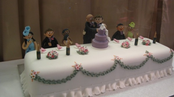 Gay marriage wedding cakes