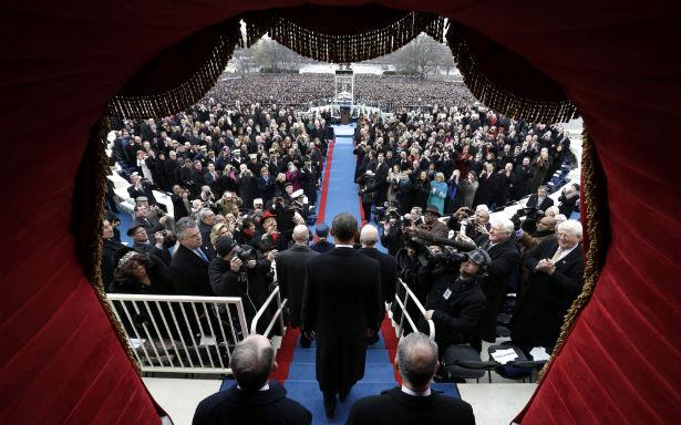 Obama at inaugural