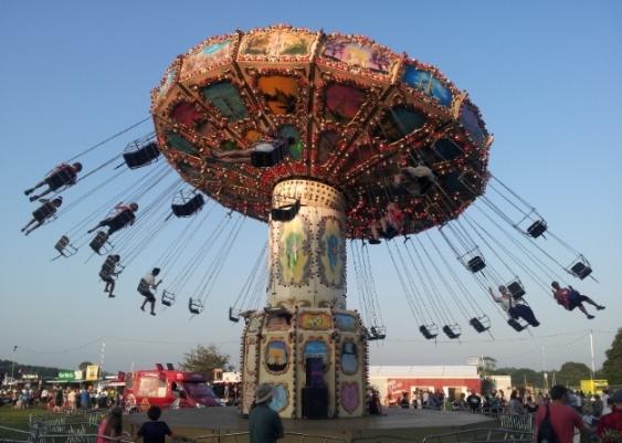 fairground ride love supreme fest july 2013