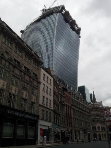Walkie Talkie building, London, 5.10.13
