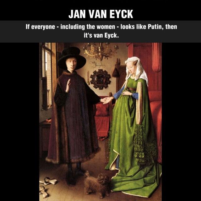 art appreciation cool-artist-paintings-details-Jan-Van-Eyck