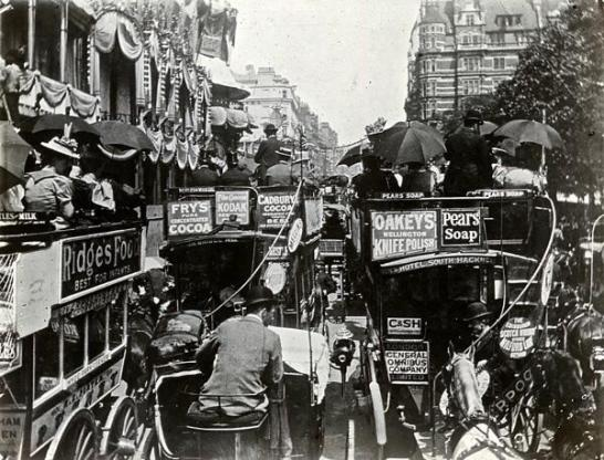 Before the congestion charge Piccadilly, c 1900