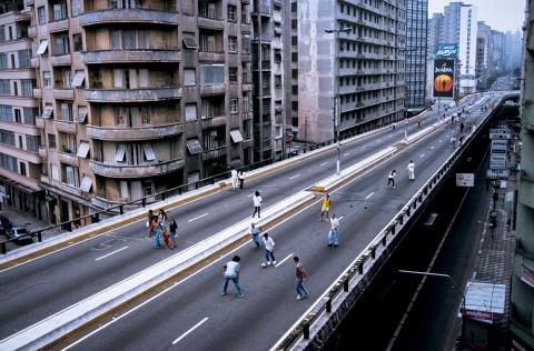 brazil football sao paulo highway