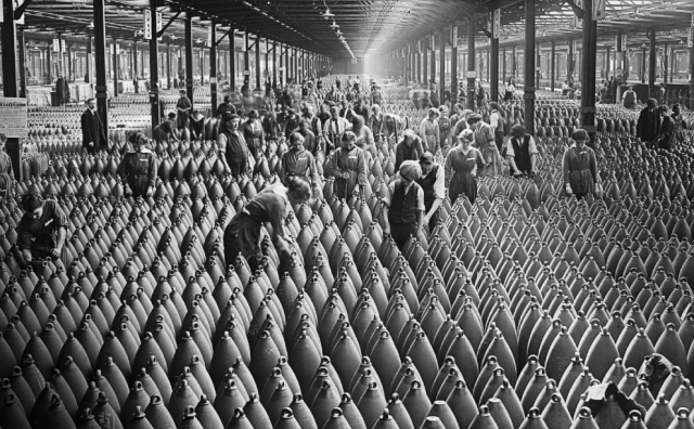 WW1 shells Imperial War Museum
