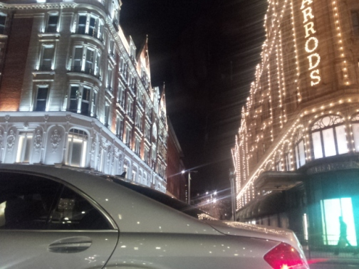 Knightsbridge car harrods