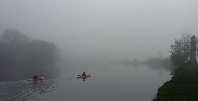 fog kayaks