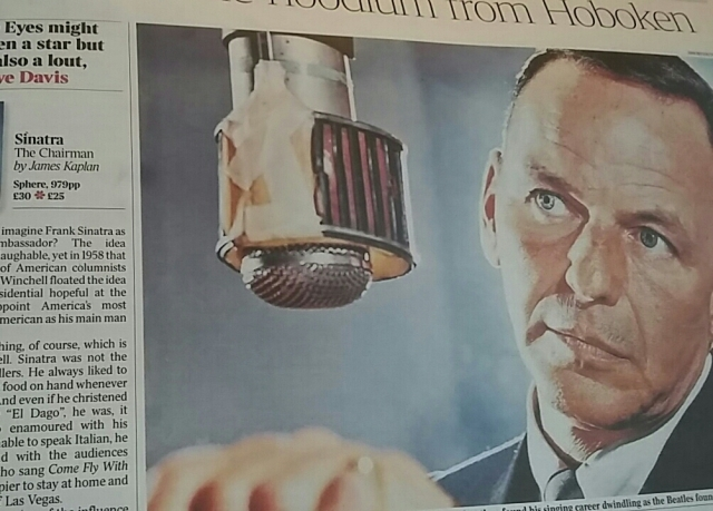 sinatra bio pic from my times review