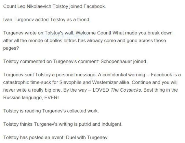 tolstoy facebook