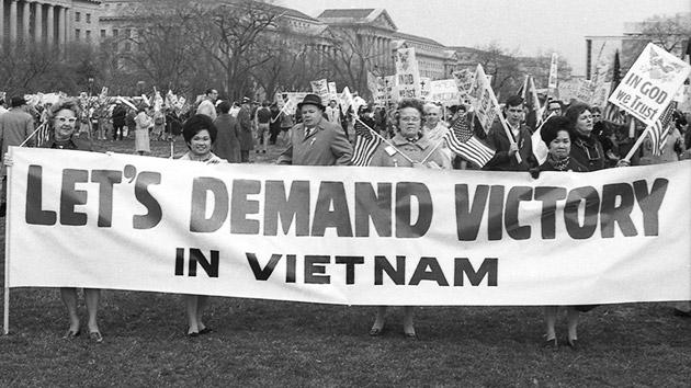 pro vietnam war demo