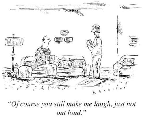 new yorker cartoon intimacy